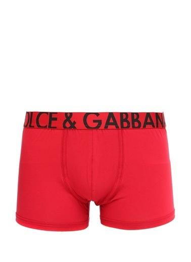 Dolce&Gabbana Dolce&Gabbana  Logo Detaylı Erkek Boxer 101620041 Bordo